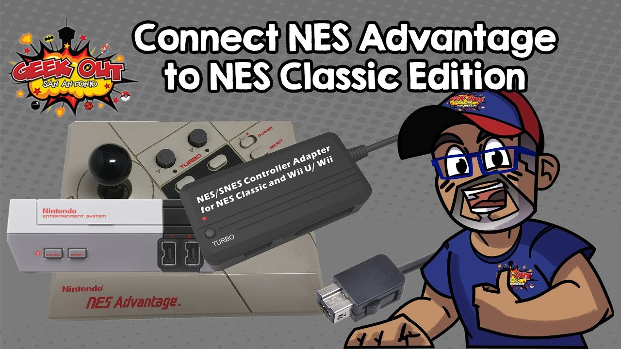 Connect NES Advantage to NES Classic Edition