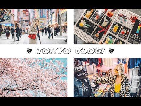 Cherry blossom in Tokyo! TOKYO VLOG / 東京ビデオブログ
