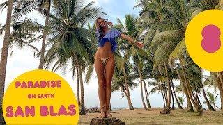 Cum e să stai fără electricitate pe o insulă izolată în Panama?