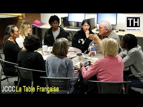 JCCC La Table Française (The French Conversation Table)