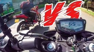 TVS Apache rr Modificada VS TVS Apache estandar