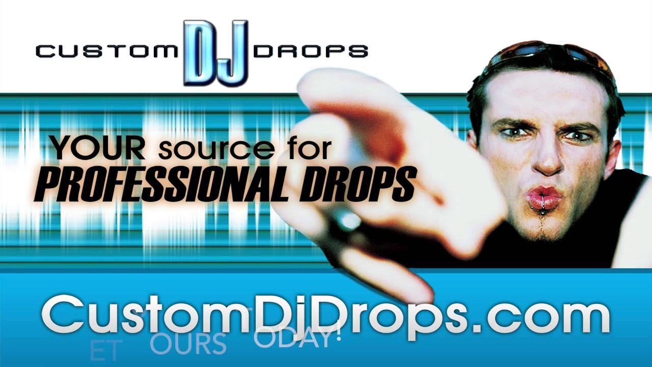 Custom DJ Drops Dry Voice DJ Drops Demo