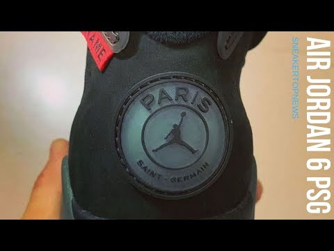 Air Jordan 6 PSG Set To Release In July