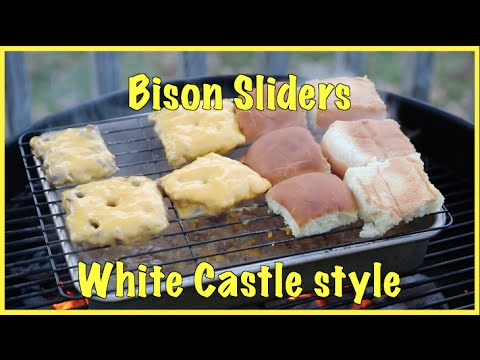 Bison Sliders White Castle style