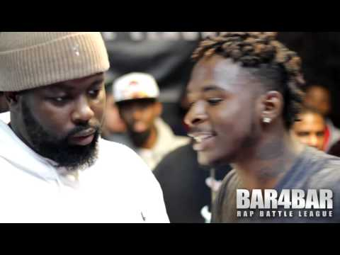 BAR4BAR RAP BATTLE LEAGUE PRESENTS - FONZ VS CHEF TREZ