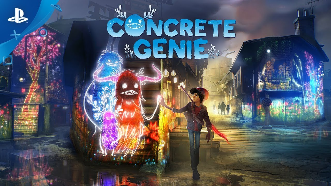 PS4 exclusive Concrete Genie is a unique exploration of bullying's