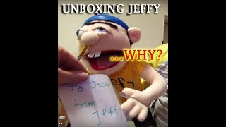 JEFFY Puppet UNBOXING| Birthday Present SURPRISE SML SuperMarioLogan Puppets Party| OskieWhiskie