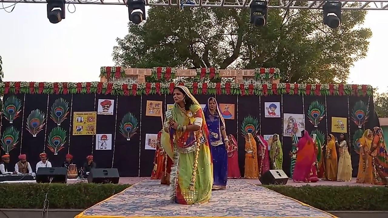 Rajputi Dress Fashion Show. By Nakhrali Baai Sa Group.