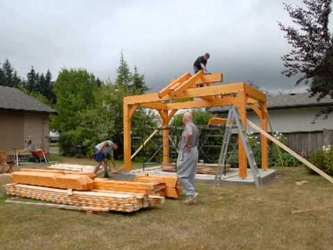 Raising youtube - Construire un gazebo ...