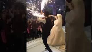 رقص جامد عروسه وعريس  على مهرجان لالا جامد