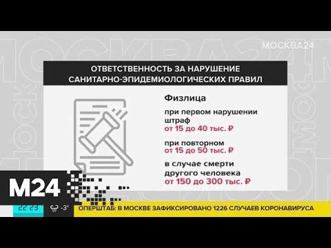 31 марта в Госдуме рассмотрят закон о штрафах за нарушение карантина - Москва 24