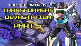 Transformers Devastation (PC/60fps) - PART 5 - Come Out And Play #24