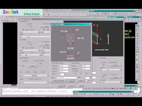 DansMark Software Solutions - Railing Designer Series - Sloped-Railing-Designer-2.avi