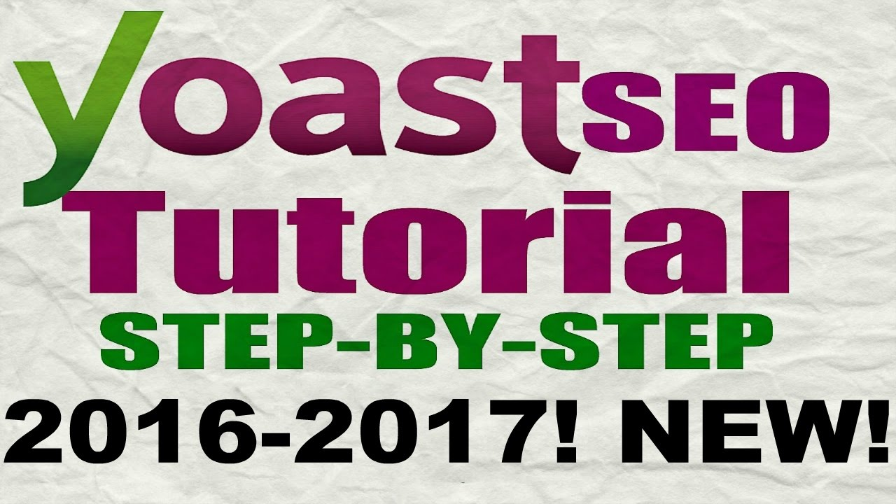 Yoast seo tutorial 2016 how to setup yoast seo plugin.