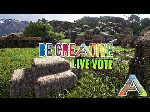 Creative Build Competition Vote Live