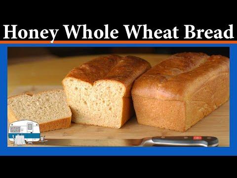 How to Make Honey Whole Wheat Bread YouTube
