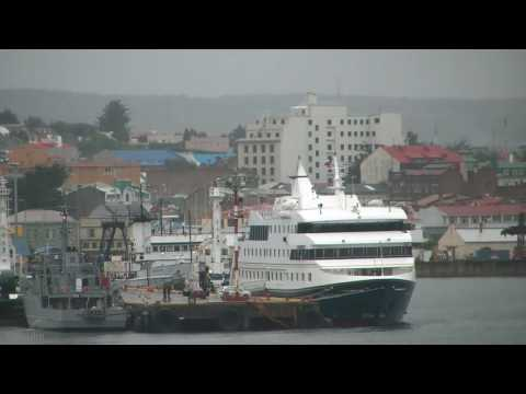 Port scene, Punta Arenas, Chile