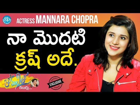 Actress Mannara Chopra Exclusive Interview    Anchor Komali Tho Kaburlu #4