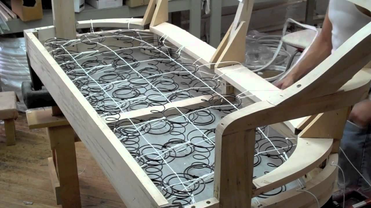 Springing A Sofa, Kindel Furniture Company   YouTube