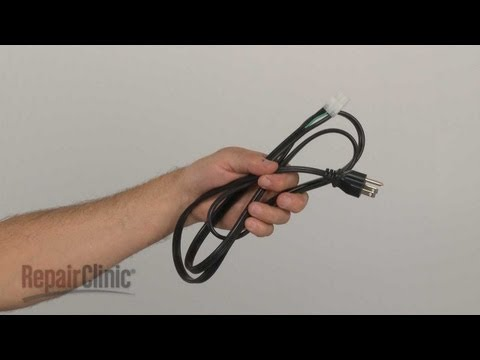 Power Cord - Frigidaire Washer: Top-Loading