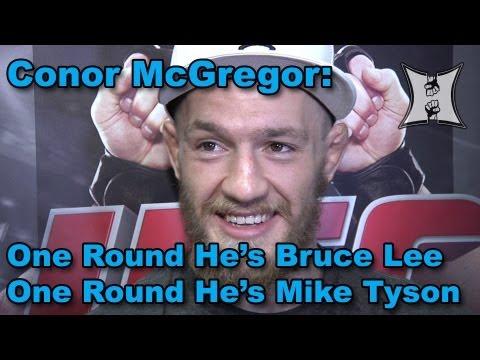 Conor McGregor on Knee Injury In Holloway Win, Boston Leprechauns , Guinness Beer + UFC In Ireland