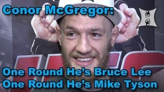 Conor McGregor on Knee Injury In Holloway Win, Boston Leprechauns , Guinness Beer + UFC In Ireland
