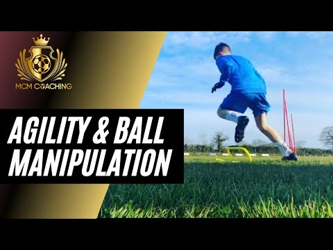 Session Highlights | Agility with Ball Manipulation | MCM Coaching UK