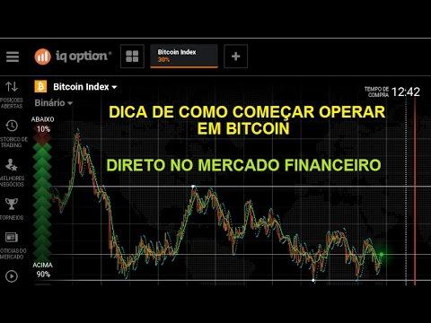 Operando direto no Ativo Bitcoin - Mercado Financeiro