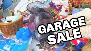 JEWELRY GARAGE SALE - Flip Garage Sale Items on Ebay 2019 | Garage Sale Camera