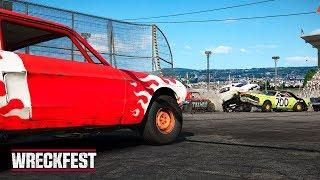 ДИКОЕ ДЕРБИ! | Wreckfest #1