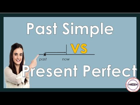 Present Perfect vs Past Simple, English Grammar Lesson