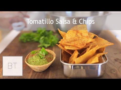 Tomatillo Salsa & Chips | Byron Talbott