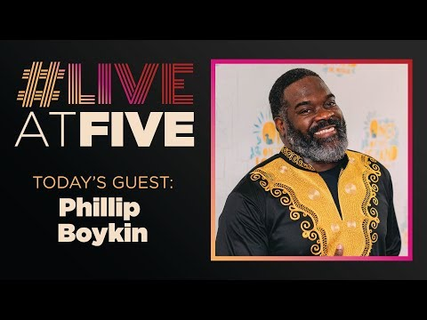 Broadway.com #LiveatFive with Phillip Boykin of ONCE ON THIS ISLAND