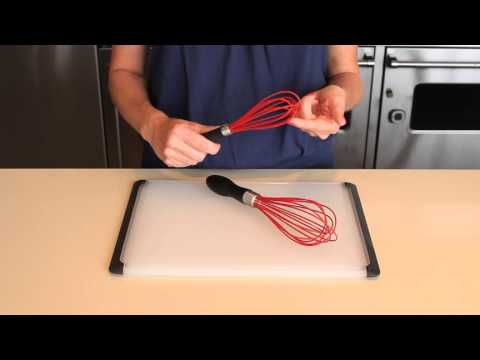 OXO Good Grips Red Silicone Balloon Whisk