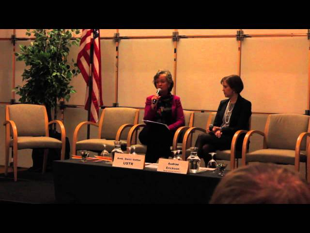 WITA TPP Series: What's at Stake for Agriculture-Amb. Darci Vetter Q&A  2/11/16
