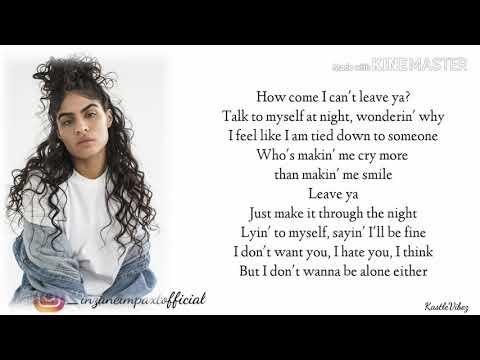 Jessie Reyez - SAME SIDE (Lyrics)