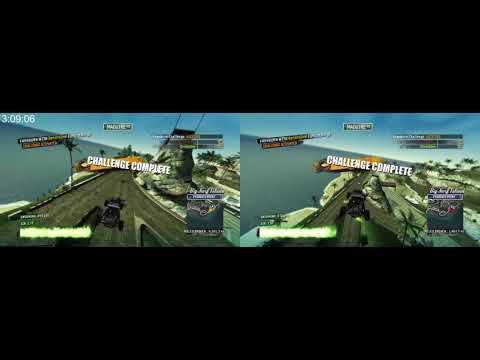 Big Surf Island Online% 2p 4:50.900 - Burnout Paradise Remastered PC |