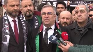 Gambar cover Cüneyt Çakır, Mete Kalkavan ve Alper Ulusoy'a Beşiktaşlı taraftarlardan suç duyurusu