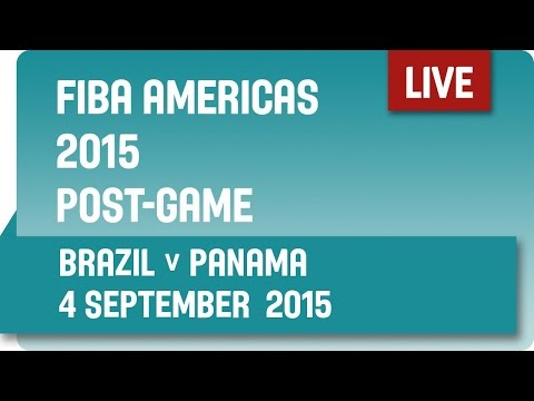Post-Game: Brazil v Panama - Group A -  2015 FIBA Americas C