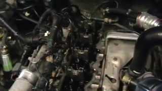 Mazda MPV mexanizmi: WL - T 2.5 l, klapan muhrlar ildiz o'rniga