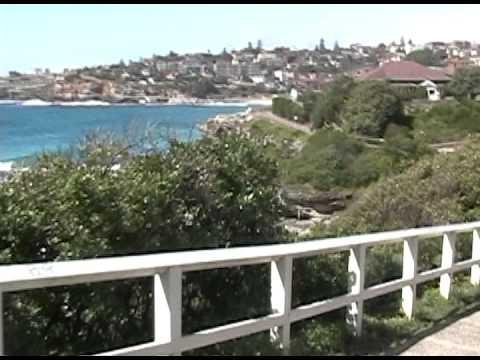 Australia--Bondi Beach---Biking from Bondi Beach to Bronte Beach