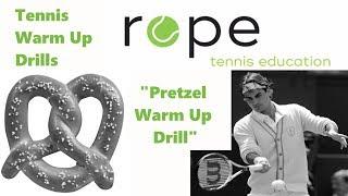 Tennis Drills - Warm up Drills mit Sinn - Pretzel Warm Up Drill