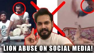 LION ABUSE ON SOCIAL MEDIA | AZLAN SHAH