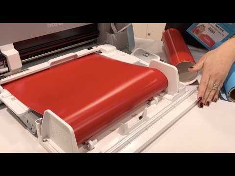 brother - Scan N Cut DX with Roll Feeder - Creativation 2019