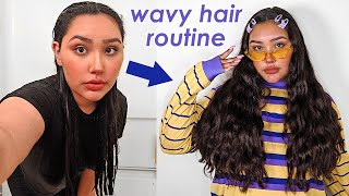 MY LONG WAVY HAIR CARE ROUTINE! ✨