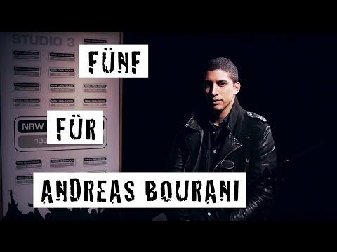 Fünf für Andreas Bourani - das Interview ohne Fragen
