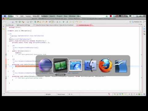 Java EE 6 And GlassFish 3 With Eclipse (2 Of 5) - JSP + Servlets + EJB