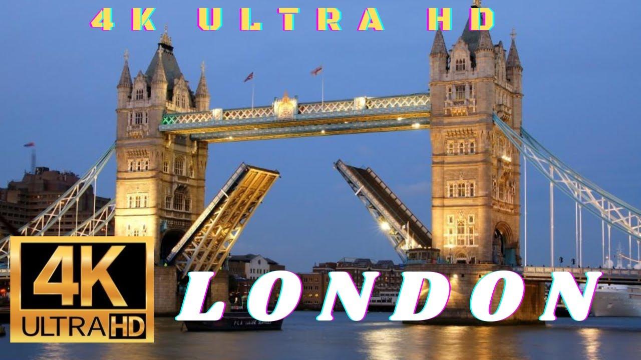 Download London in 4k - Skyscraper District Drive london 4k ultra hd  - City of London   london walk 4k video