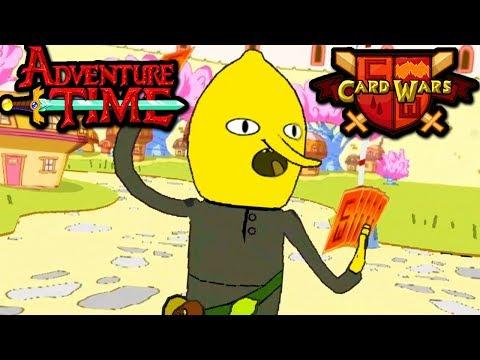 Card Wars: Adventure Time - Earl of Lemongrab Gem Chest Episode 22 Gameplay Walkthrough Android App