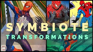 Symbiote Transformations in Spider-Man Games